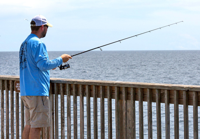 gulf shores pier fishing report