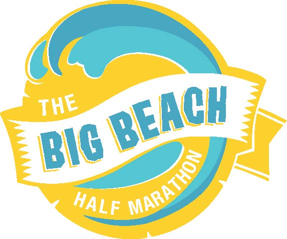 logo big beach half marathon