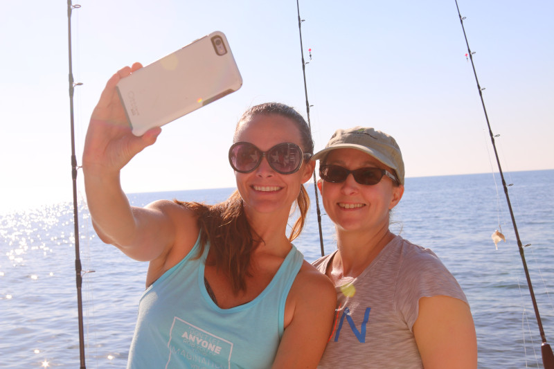 Girlfriends fishing in Orange Beach, AL