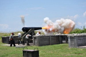 The 150th Anniversary of the Battle of Mobile Bay takes place Aug 1-3, 2014 at Fort Morgan.