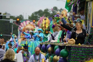 Gulf Shores and Orange Beach are cities both known for their family-friendly Mardi Gras festivities.