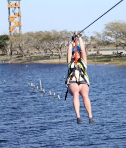 The Hummingbird Zipline is one way to catch a breeze during your Gulf Shores and Orange Beach vacation.