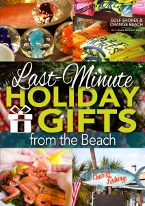 Holiday Gift Ideas from Alabama's Beaches