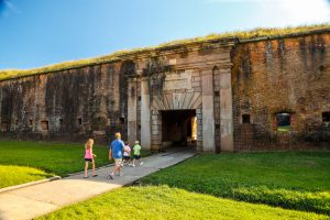 Fort Morgan Living History Tour