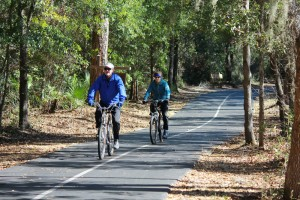 Get a great workout with a bike ride on the trails in Gulf Shores and Orange Beach.