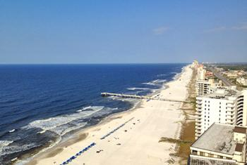 View of Alabama Gulf Coast