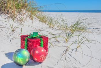 Coastal Christmas on Alabama's White Sand Beaches