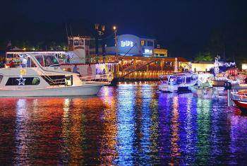 Christmas Lighted Boat Parade in Gulf Shores AL