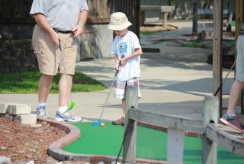 Gulf Shores putt-putt mini golf