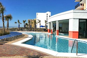 Hotel Pool in Gulf Shores