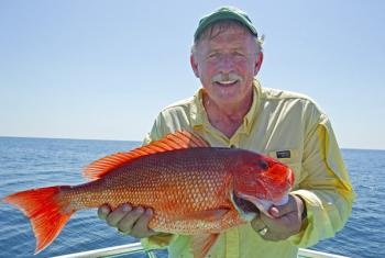 Snapper fishing in Gulf Shores and Orange Beach AL