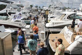 The Wharf Orange Beach Yacht and Boat Show