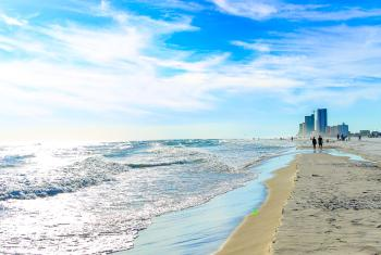 White-Sand Beach of Gulf Shores, AL