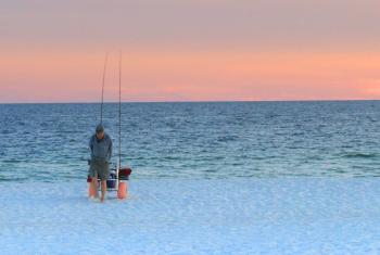 Surf Fishing in Gulf Shores
