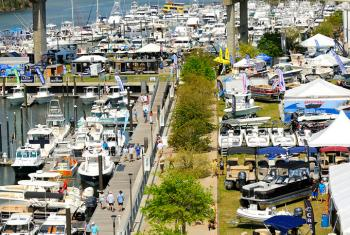 Wharf Boat and Yacht Show