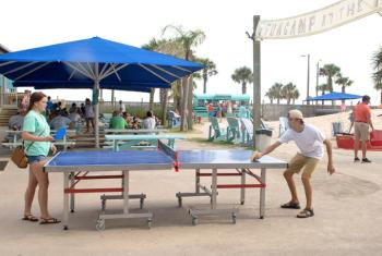 Teens play at The Hangout in Gulf Shores