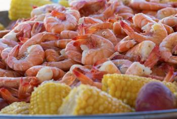 Shrimp Broil at National Shrimp Festival in Gulf Shores