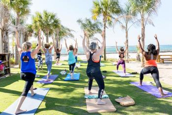Outdoor Yoga Class in Gulf Shores and Orange Beach
