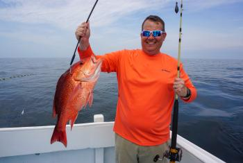 Red snapper fishing Orange Beach, AL