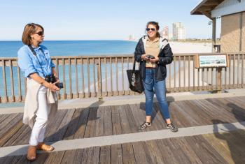 Guide Pier Walks at Gulf State Park pier