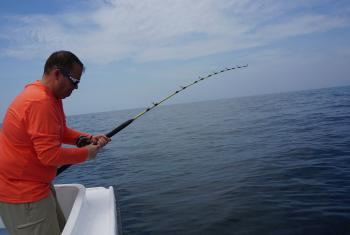 Deep sea fishing in coastal Alabama