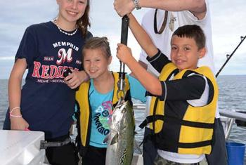 Family Fishing Orange Beach Al