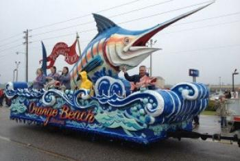 Come to Orange Beach and Gulf Shores to catch some moonpies and beads this Mardi Gras season.