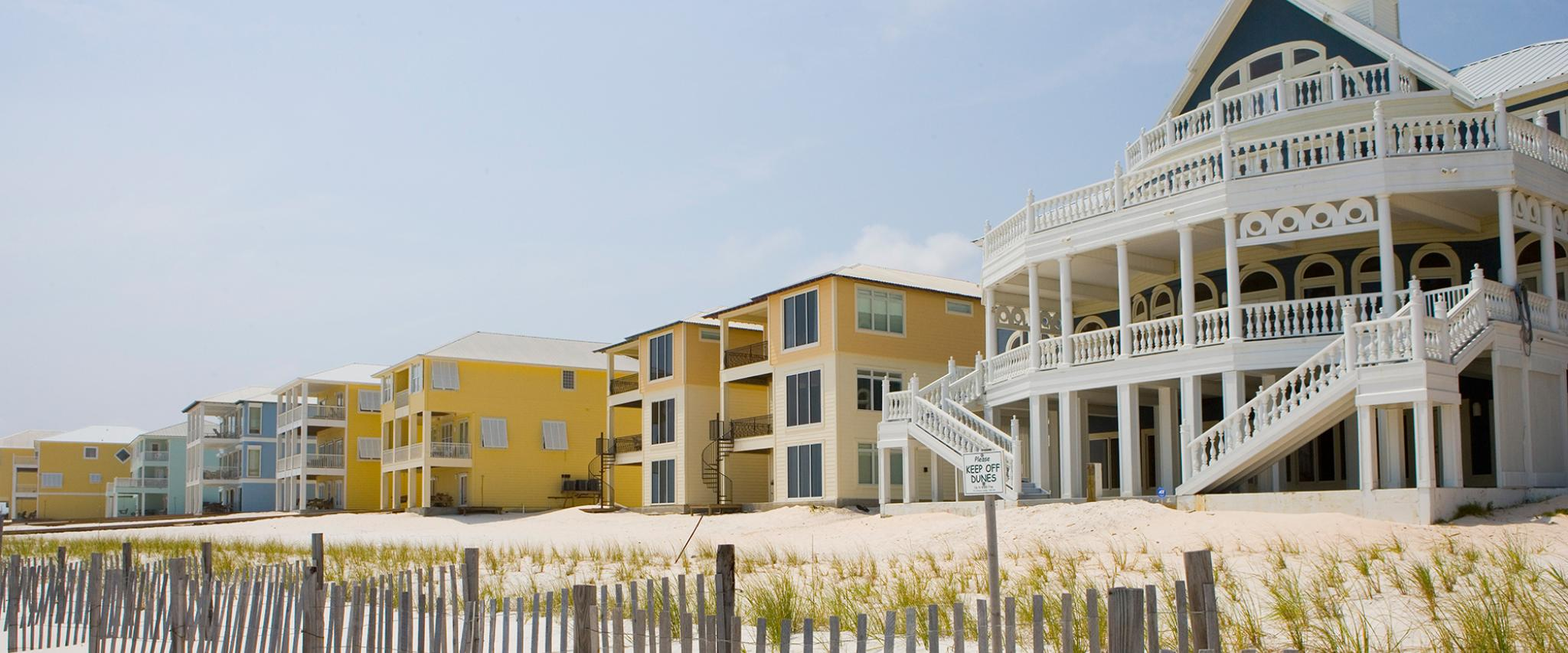 Beach Houses Orange Beach