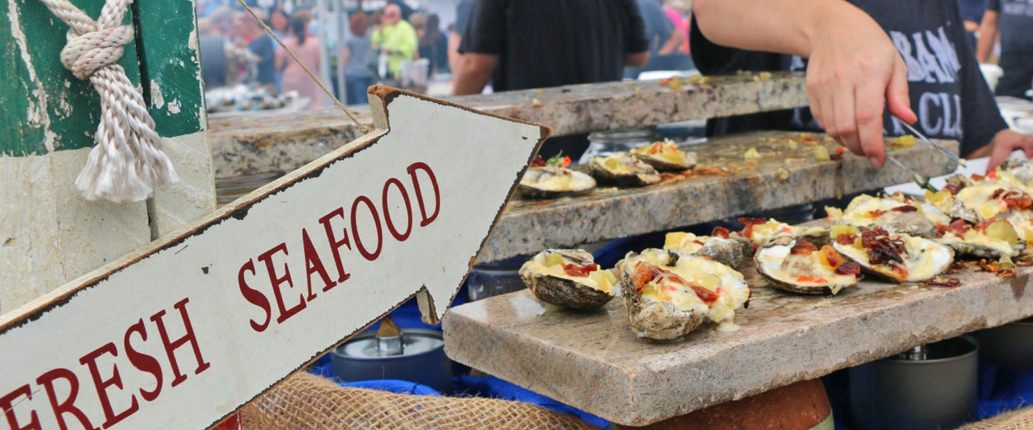 The Hangout Oyster Cook Off in Gulf Shroes AL
