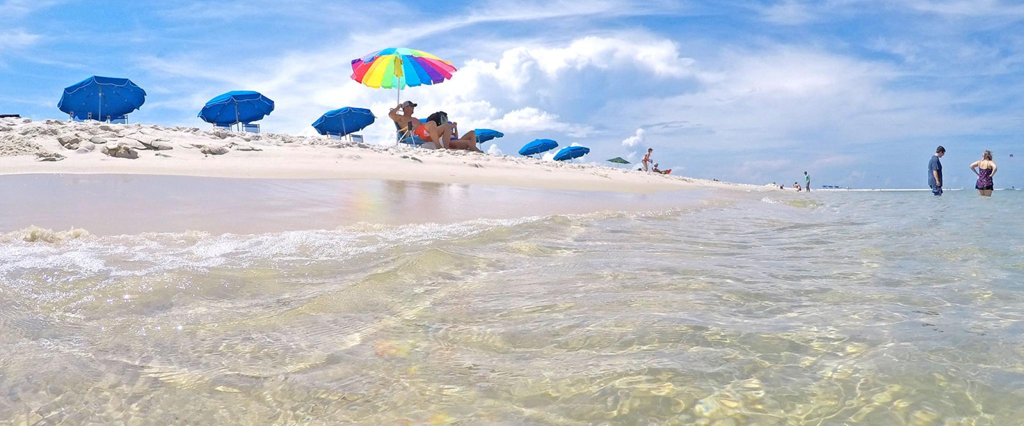 Alabama Gulf Coast White Sand Beaches