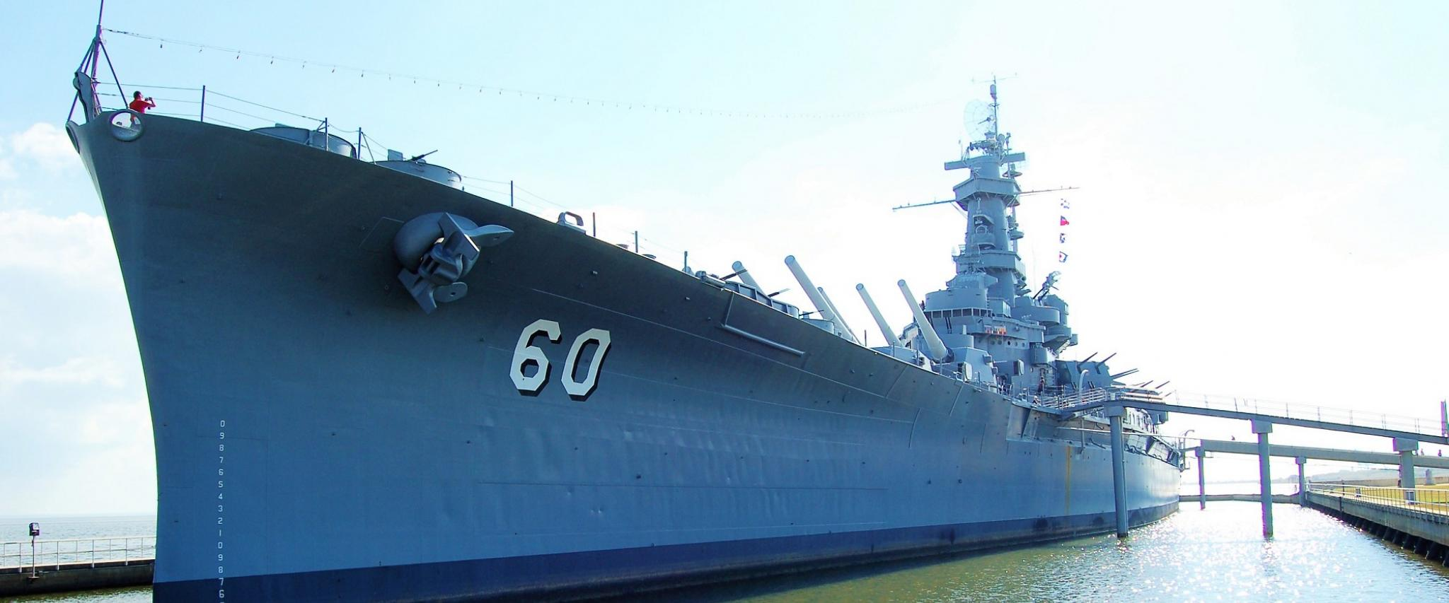 U.S.S Alabama Battleship
