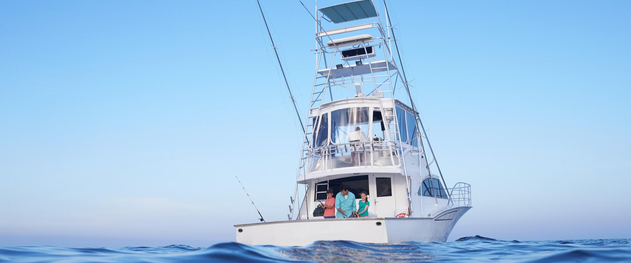 Orange Beach Charter Fishing Boat