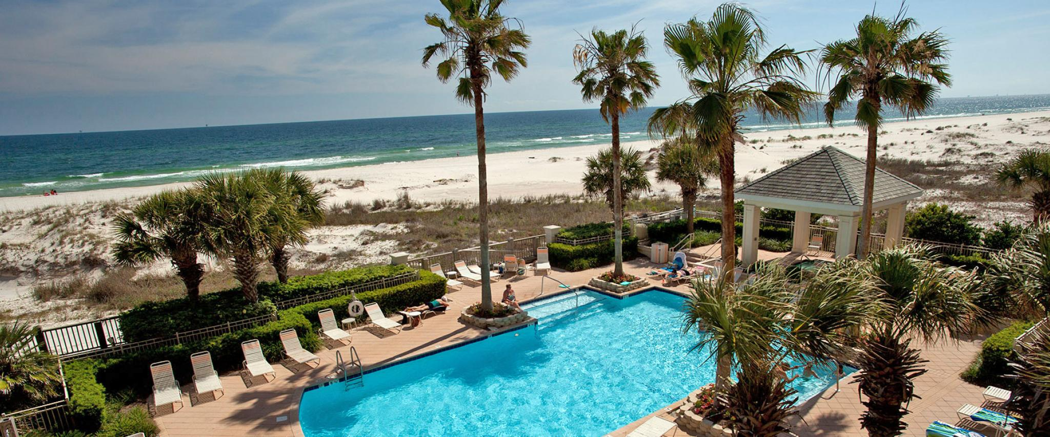 Condo Pool on Alabama's Beaches