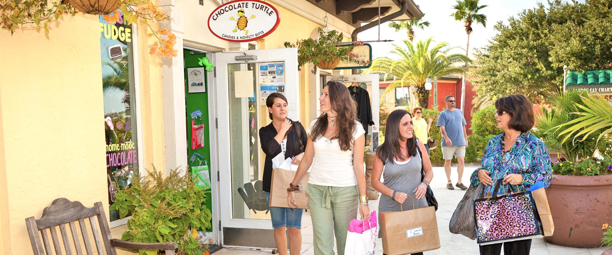 Women shopping in Orange Beach AL