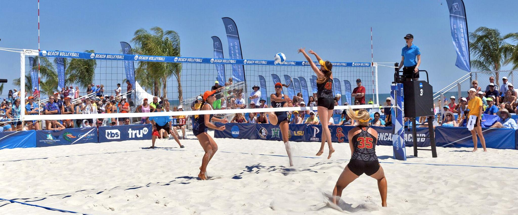 NCAA Beach Volleyball Championship in Gulf Shores