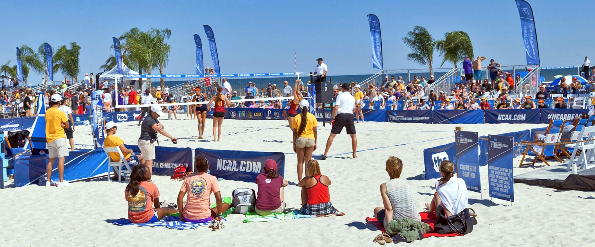 NCAA Beach Volleyball National Championship in Gulf Shores Alabama