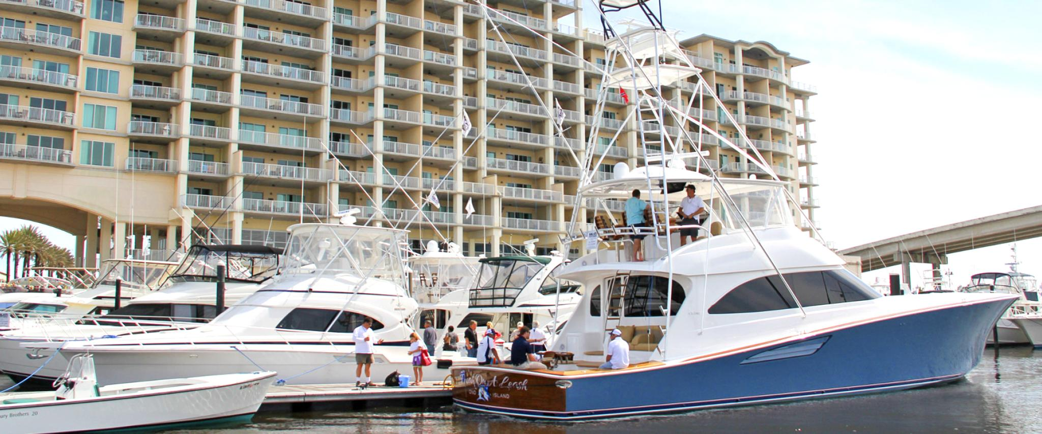 Wharf Boat and Yacht Show in Orange Beach