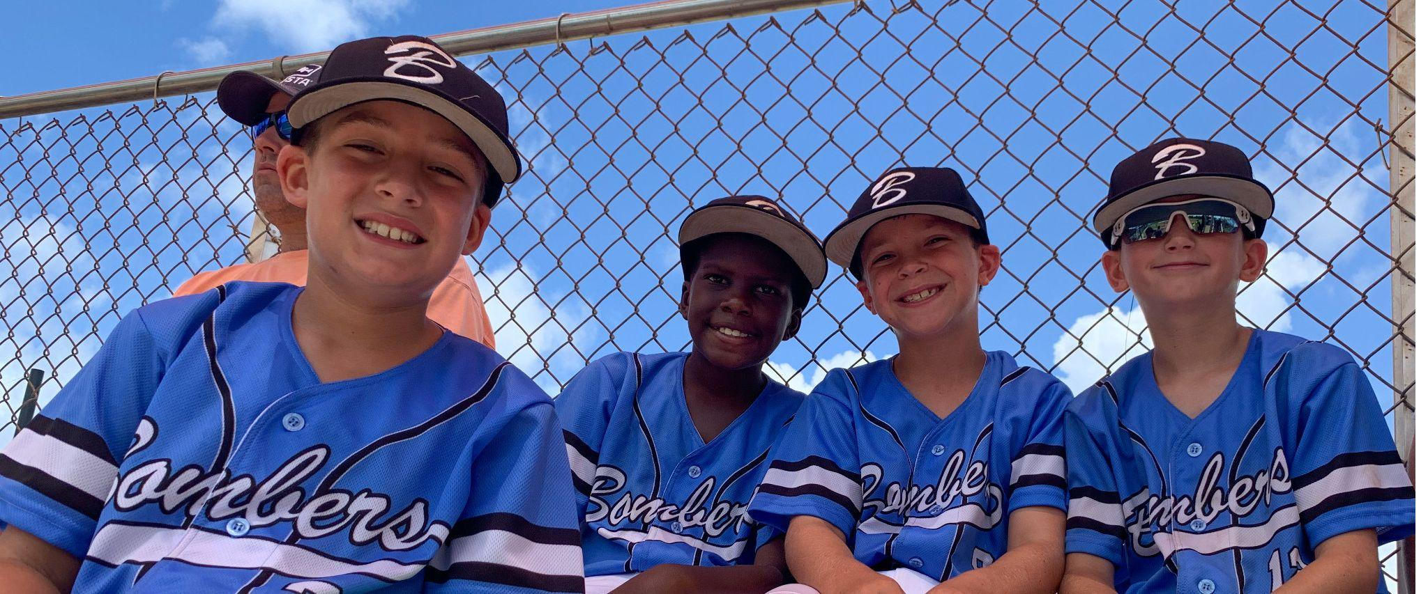 Little League Players Orange Beach