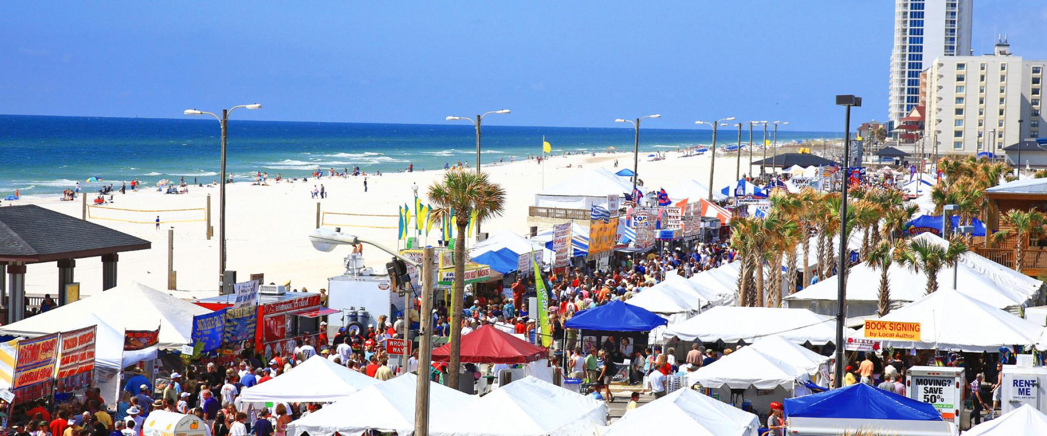 National Shrimp Festival in Gulf Shores, AL