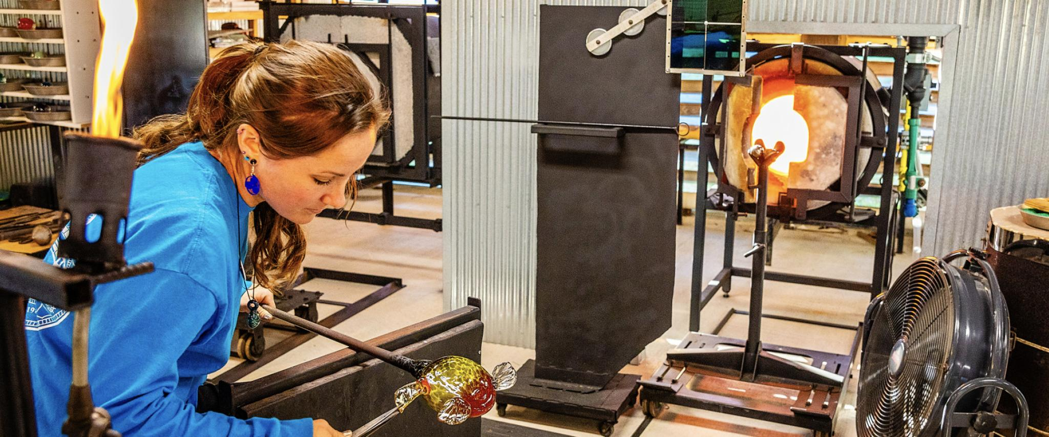 The Hot Shop Glass Blowing Classes in Orange Beach