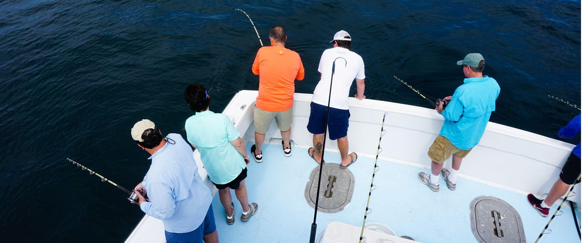 Offshore fishing Gulf Shores Orange Beach AL