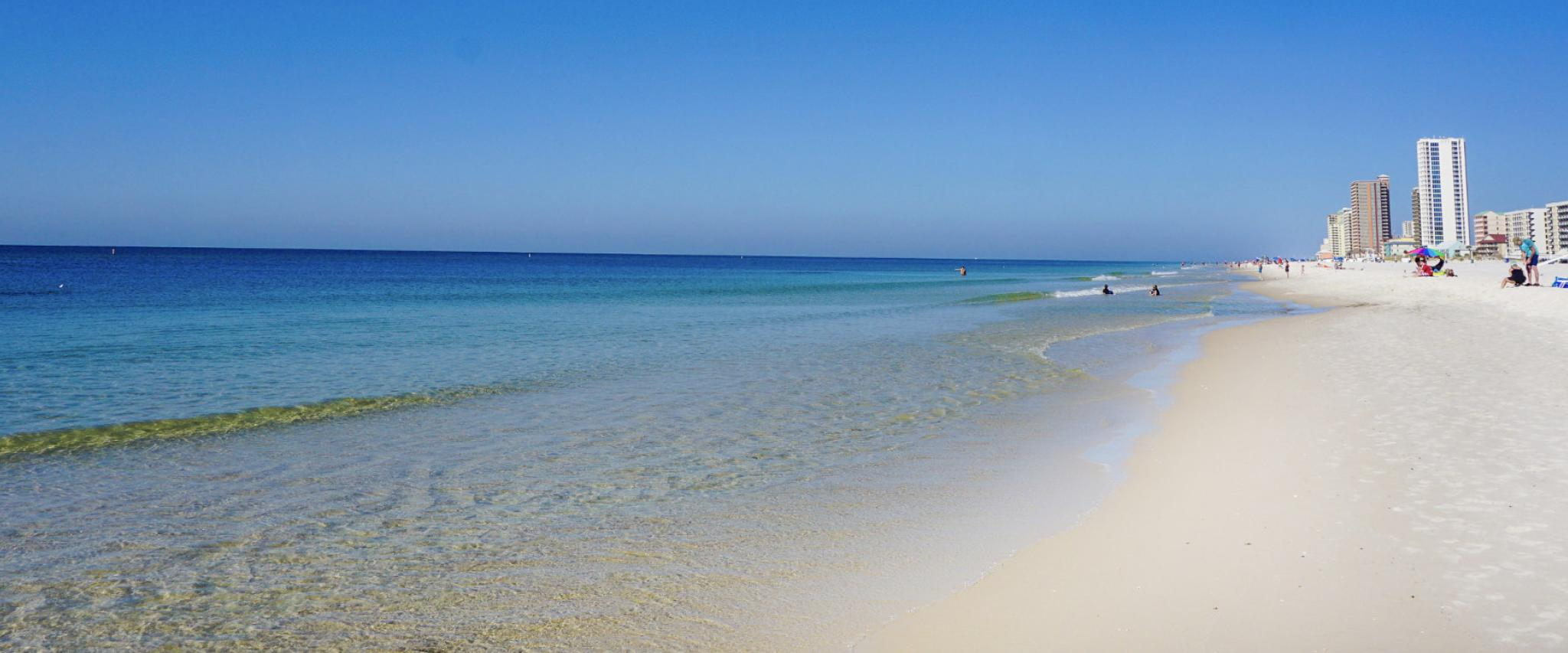 Alabama's beautiful white sand beaches