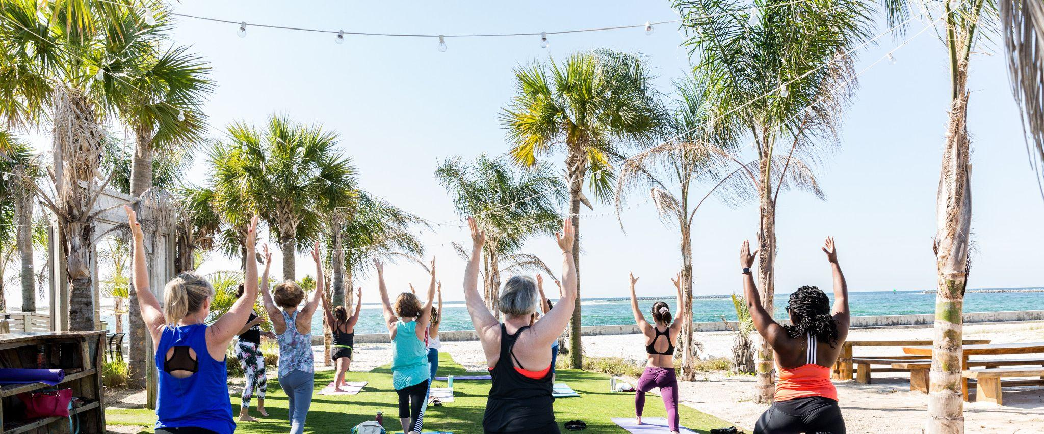 Yoga at The Gulf in Orange Beach, AL
