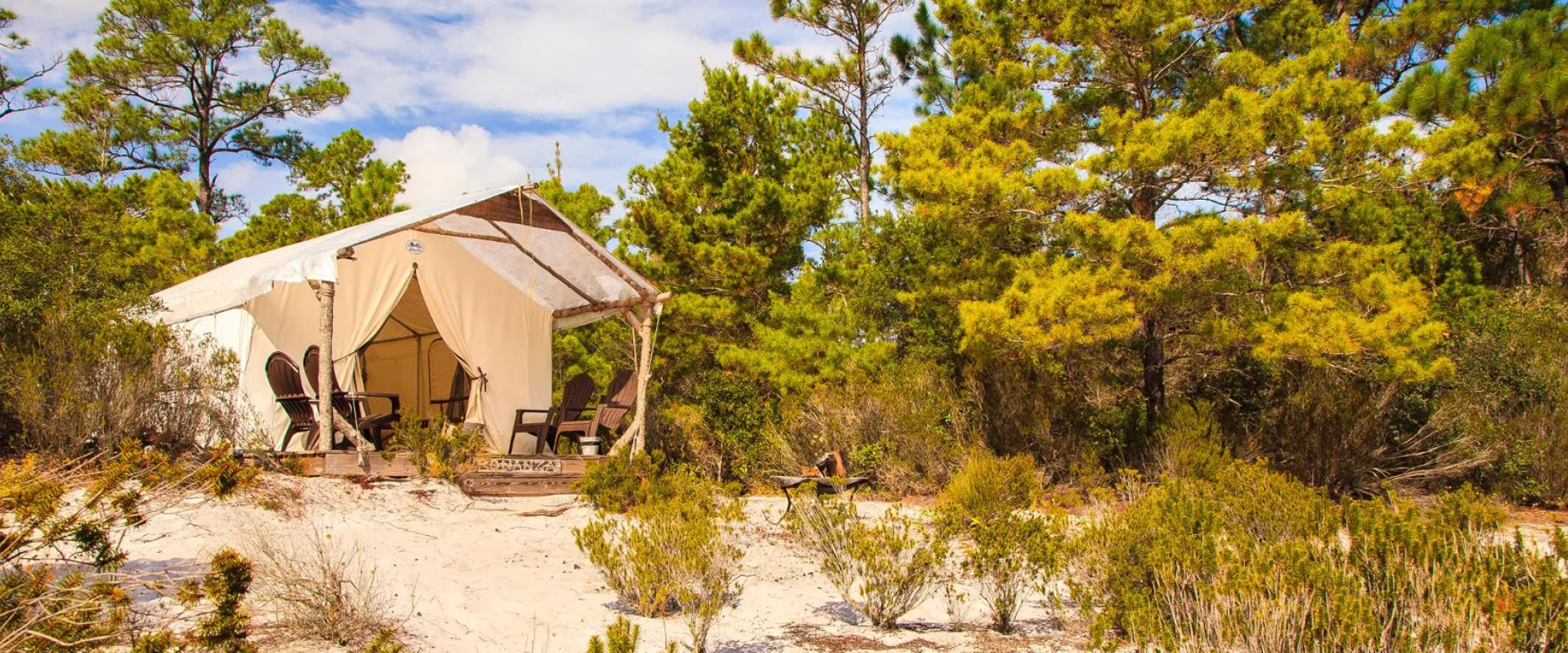 Primitive Campsites at Gulf State Park