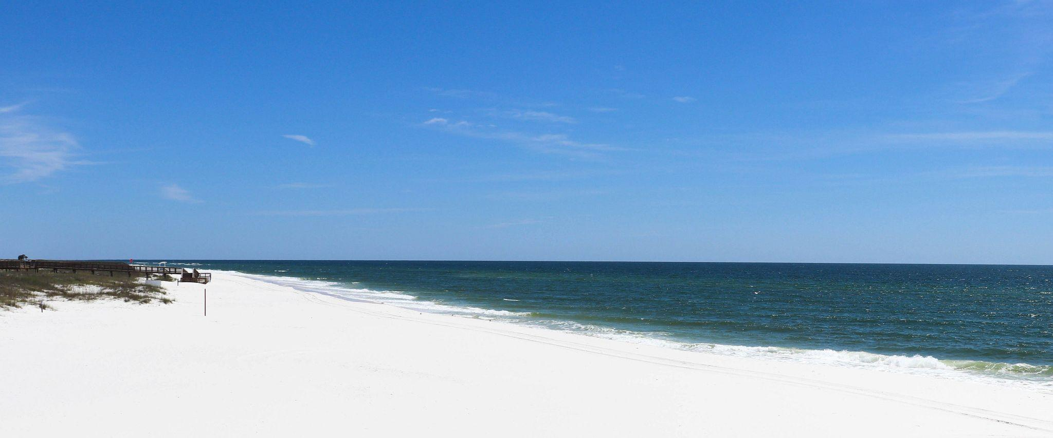 Alabama's sugar-white sand beaches and turquoise waters