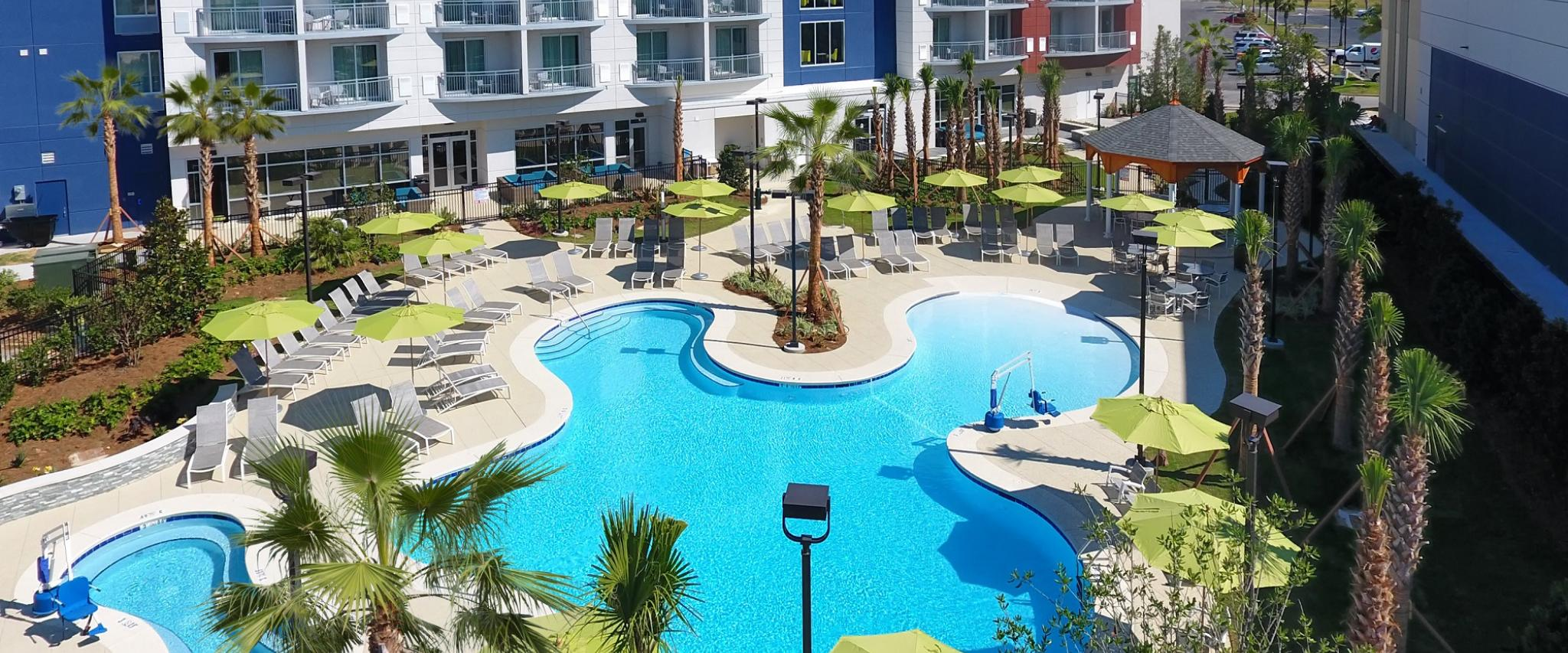 Pools at Springhill Suites at The Wharf