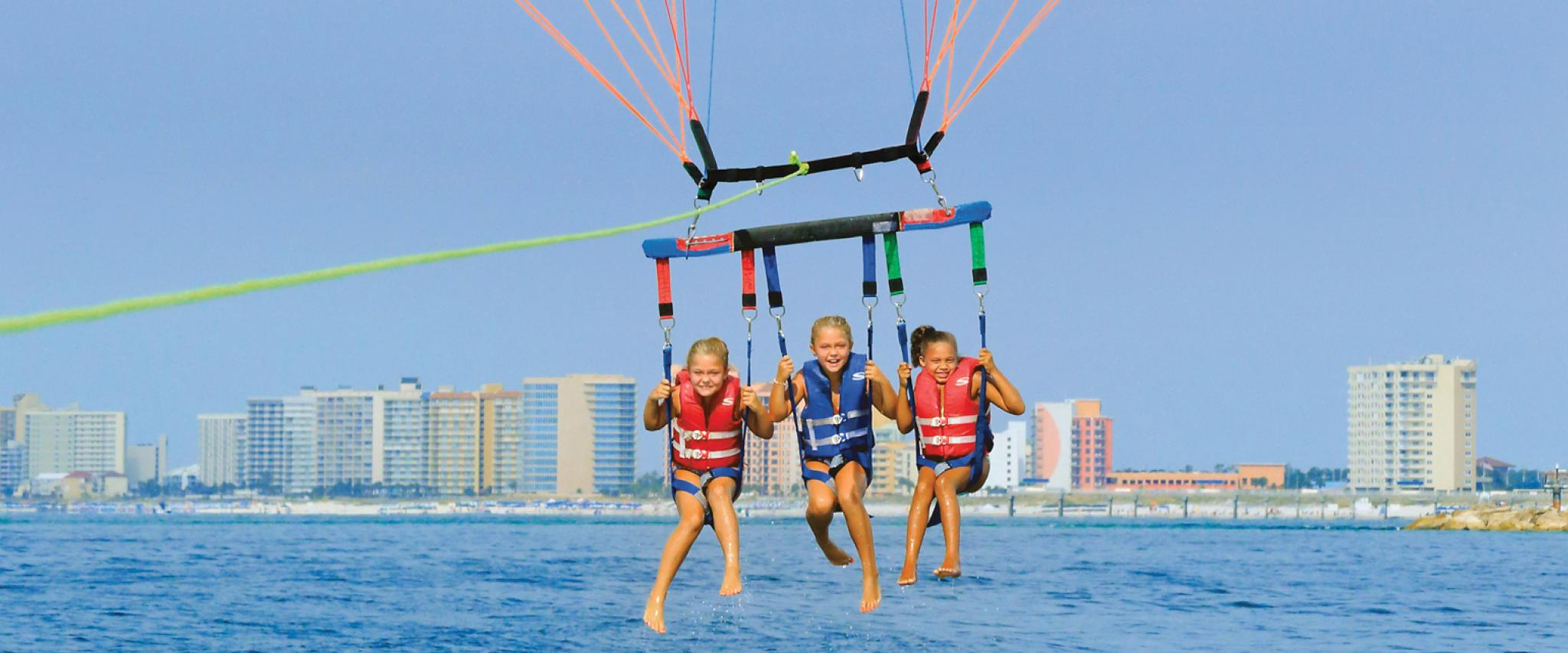 Parasailing on Alabama's Beaches