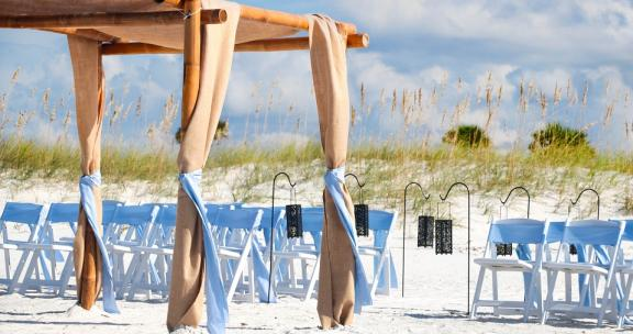 Gulf Shores wedding and reunion