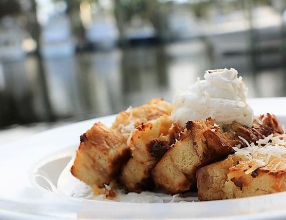 Fisher's Bread Pudding