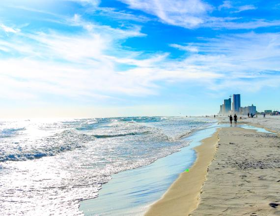 The Beach of Gulf Shores, AL